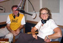 Susan Andrews with Eddie Muller